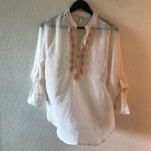 BNWOT! Never Worn! Lauren Conrad Chiffon Top